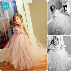 Tutu Dress..Birthday Tutu Dress.. Flower girl dress.... $55.00, via Etsy.
