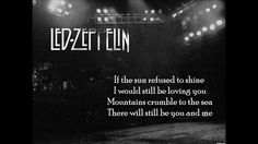 Led Zeppelin~~Thank you~~Lyrics on screen  Those were interesting songs...I think I like this one the best.  I am going to wrap up and get some sleep. Thank you for sharing and for finding the song I've been looking for :)  Goodnight ~