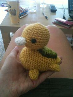 Guys, I want one! Diy Crochet Patterns, Amigurumi Patterns, Crochet Projects, Knitting Patterns, Sewing Projects, Cute Crochet, Crochet Toys, Knit Crochet, Diy Crafts Hacks