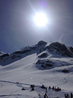 Ski #montain #beautiful #fun #snow
