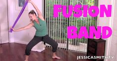 Join certified instructor Jessica Smith for this gentle (and sneaky!) cardio toning routine that is perfect for the day after a really tough workout to help get the blood flowing and smooth out sore muscles while you sculpt and slim. Jessica Smith, Dumbbell Workout, Pilates Workout, Pilates Band, Barre Workouts, Body Workouts, Youtube Workout Videos, Youtube Cardio, Fitness Workout For Women