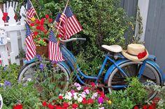 Fourth of July In My Garden