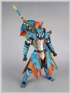 Monster Hunter Revoltech Figure that I so wish I had to money to buy...