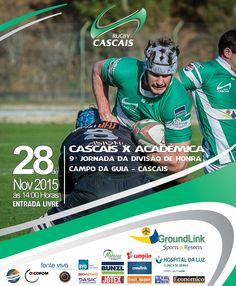 JOGOS FIM DE SEMANA 28 E 29 NOVEMBRO - Cascais Rugby