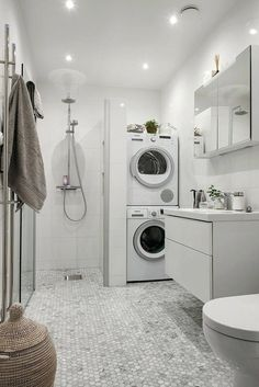 laundry room and bathroom combo designs best laundry bathroom combo ideas on strikingly small laundry room bathroom combination designs. Toilet In Shower Combination | Small Bathrooms Remodel | Small Bathroom Remodels Before And After | Bath For Small Bathroom. #interiordesigner #Bath