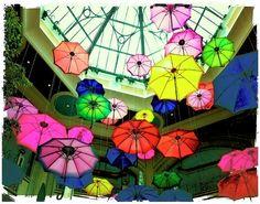 Floating Umbrellas In Las Vegas