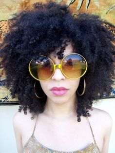 Jahla // Natural Hair Style Icon | Black Girl with Long Hair