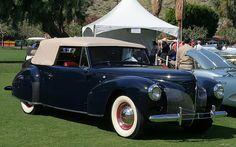 1940 Lincoln Zephyr Continental Cabriolet - fvr by Rex Gray, via Flickr