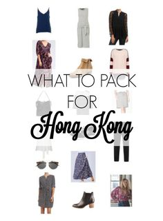 What to pack for Hong Kong - Shopping, food, culture and the closest Disneyland to Australia! This sophisticated city makes for a glamorous destination.