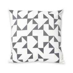 Intaglio IV Lg Pillow 18x18 Gray, $40, now featured on Fab.