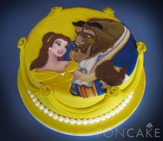 Beauty and the Beast Cake - Torta de La Bella y la Bestia