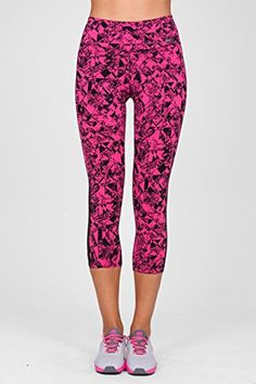 be80eb02ef3ecb Nike Womens Legendary Jewels 34 Length Training Capri Tights XSmall Vivid  PinkBlack *** Check this awesome product by going to the link at the image.