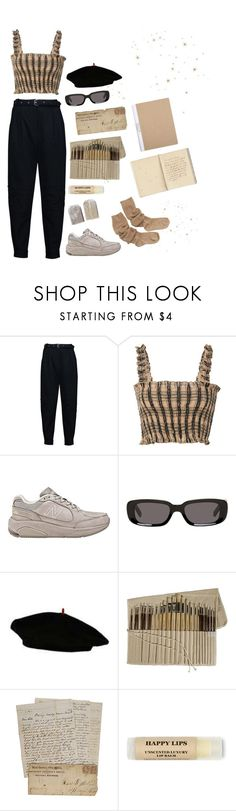 """""""softie"""" by annnapeterson ❤ liked on Polyvore featuring Belstaff, New Balance and Off-White"""