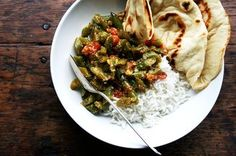 Masaledar Sem (Spicy Green Beans) Recipe on Food52 - Simple, tasty - Alexandra Cooks