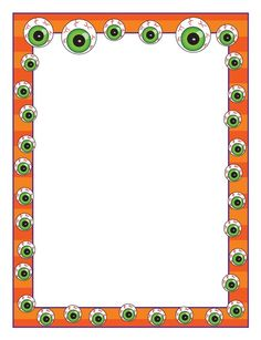 Halloween Monster Eyes — fun paper is a great incentive for student writing