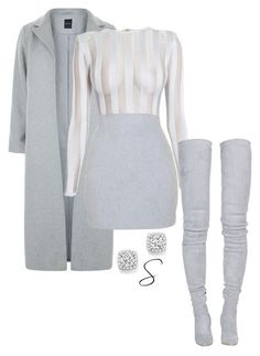 Stylish Clothes For Women Komplette Outfits, Teen Fashion Outfits, Cute Casual Outfits, Polyvore Outfits, Look Fashion, Stylish Outfits, Fall Outfits, Winter Fashion, Feminine Fashion