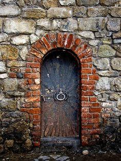 Old Iron door.