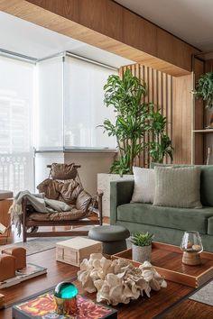 Small Living Rooms, Home Living Room, Living Room Designs, Rooms Home Decor, Room Decor, Sala Vintage, Estilo Interior, Minimalist Room, Room Interior Design
