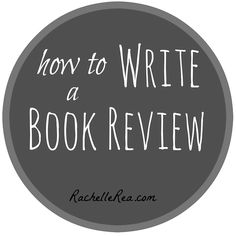 I write book reviews. Do you want to become a book-blogger, too? Here are some simple tips on writing book reviews.