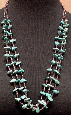 El Paso Turquoise Heishi Necklace