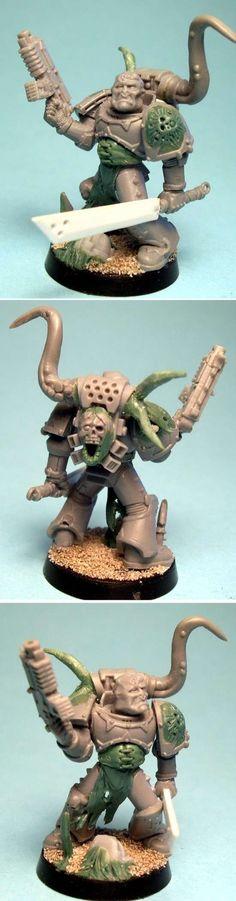 Plague Marine Champion Conversion