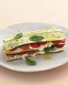 Zucchini Lasagna with Farmer Cheese   43 No-Cook Dinners You Can Make Without Turning On Your Stove