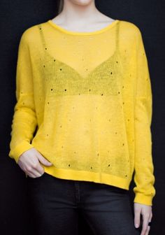 Mesh Knit Sweater / & Other Stories