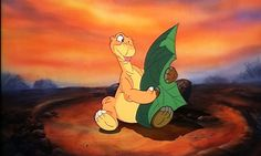 Land Before Time Littlefoot Tree Star. Little foot always made salad sound so much more appealing