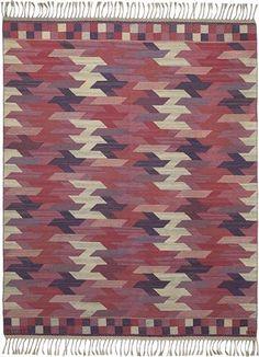 BARBRO NILSSON 'Rödarp, lättare' (Red, lighter) rug