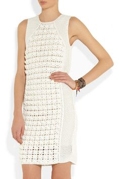 Outstanding Crochet - kind of cool over a pair of leggings?  And with sleeves or a shirt underneath.