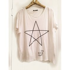 •WILDFOX• It's Witch Craft Tee OPEN TO OFFERS!                                                  In excellent pre owned condition, no flaws. Size tag says 2, it is definitely oversized could fit S-L Wildfox Tops Tees - Short Sleeve