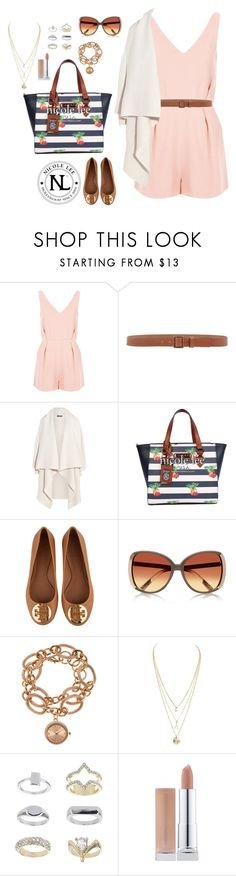 """""""Nicole Lee Tropical Pineapple Print Handbag!"""" by nicoleleeusa ❤ liked on Polyvore featuring Topshop, Armani Collezioni, Alexander McQueen, Tory Burch, River Island and Louis Arden"""