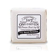 107 premium white facial soap