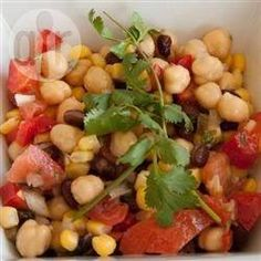 Foto recept: Mexicaanse bonen salade