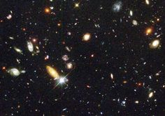 Real photo 1996; Bewildering Galaxies Across Billions of Years ... !!! just awesome universe !!!