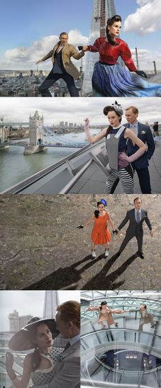TIME Style and Design: Futuristic London Fashion - Michelle Dockery and Tom Hiddleston - TWO PERFECT PEOPLE!!!