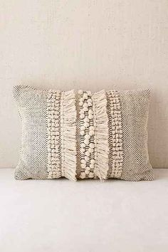 Britta Center Shag Bolster Pillow. Throw ...