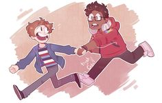 Gay babies strolling around