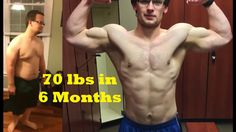 Male Weightloss Body Transformation - 70 lbs FAT Loss in 6 Months