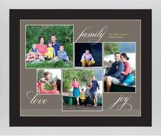 Family Sentiments Framed Print, White, Contemporary, Cream, Black, Single piece, 16 x 20 inches, Brown
