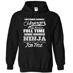 Customer Service Manager Only Because Full Time Multi Tasking Ninja Is Not An…