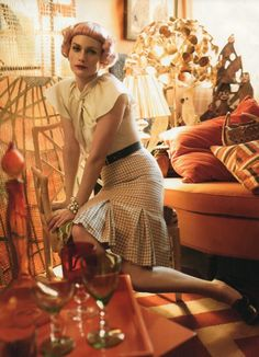 Lady Day I US Vogue I May 2010 I Amber Valletta by Steven Meisel | Fashion Editor: Grace Coddington.