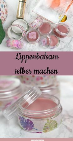 Making a lip balm yourself is great for making cosmetics yourself. Cosmetics free of chemicals. This simple recipe for making cosmetics yourself is quick. The beautifully packaged DIY lip balm is a gr Diy Lush, Diy Lip Balm, Great Mothers Day Gifts, Diy Makeup, Diy Crafts To Sell, Diy Beauty, Diy Gifts, The Balm, Lips