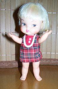 1966 Remco Heidi's Little Sister Hildy Doll