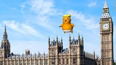 A giant 'Trump Baby' balloon is set to be flown close to the UK Parliament during US President Donald Trump's visit to London next week after the Mayor of London gave the go-ahead, it was announced Thursday. Donald Trump Baby, Political Satire Cartoons, Angry Baby, London Protest, Mayor Of London, Baby Balloon, American Freedom, Houses Of Parliament, How Big Is Baby