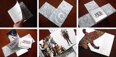 fancy fold, teaser, portfolio
