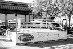 """Entrenamiento abierto en el Ring profesional  Ruddy Encarnación, Jorge Fortea, Luca Giacon o Carlos Perez """"Ratón"""". Circuito de #Boxeo #BFFA #MercadoLonjadelBarranco #Sevilla"""