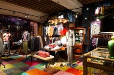 Tommy Hilfiger flagship store, Brompton Road, London store design