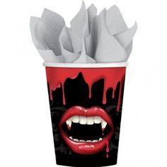 Halloween Fangtastic Paper Cups 8pk