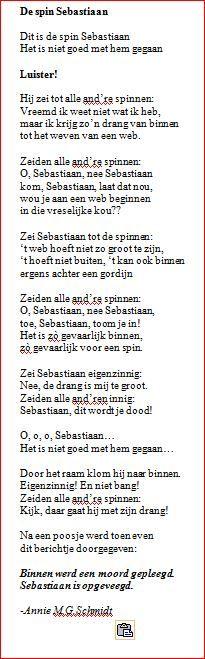 Sebastiaan, de grote spin -  Annie G.M. Schmidt